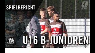 Hamburger SV U16 - FC St. Pauli U16 (20. Spieltag, B-Junioren Regionalliga Nord)