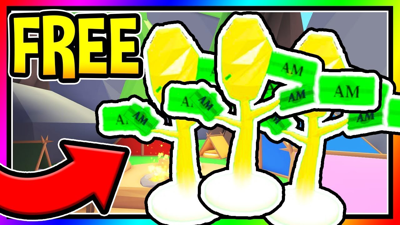 How To Get Free Money Tree In Adopt Me New Money Tree Update Roblox Adopt Me - how to donate money in adopt me roblox
