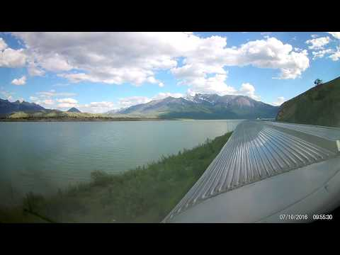 Via Rail Train 2 (The Canadian): Vancouver to Edmonton Summe
