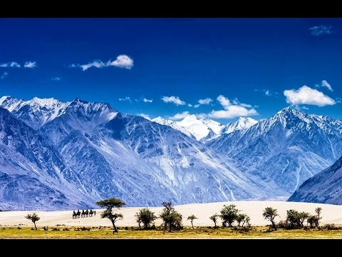 The Cold Desert Of India Nubra Valley Ladakh Youtube