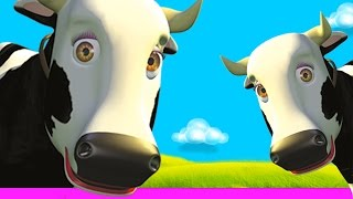Cow's Songs Mix - Kids Songs & Nursery Rhymes