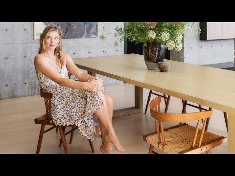 Дом Марии Шараповой в Лос-Анджелесе: японский стиль, бетон и сюрприз в подвале