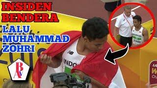 MEMILUKAN.!! Insiden Bendera Lalu Muhammad Zohri Dan Hadiah Yang Diterima