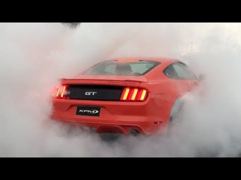 Best Of Ford Mustang 2018-  Exhaust Sound, Acceleration, Burnout & Drift Compilation