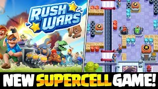 NEW SUPERCELL GAME - RUSH WARS REVEAL!! EXCLUSIVE LOOK!!