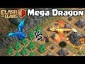 Giant/Mega Dragon Vs Electro Dragon - New Dragon Clash Of Clans Update - Dragon's Lair - COC
