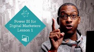 الدرس 1: إنشاء علاقة بين نتائج البحث المدفوعة والمجانية | Power BI أساسيات المسوقين الرقمية