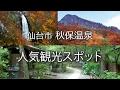 仙台市秋保温泉の人気観光スポット の動画、YouTube動画。