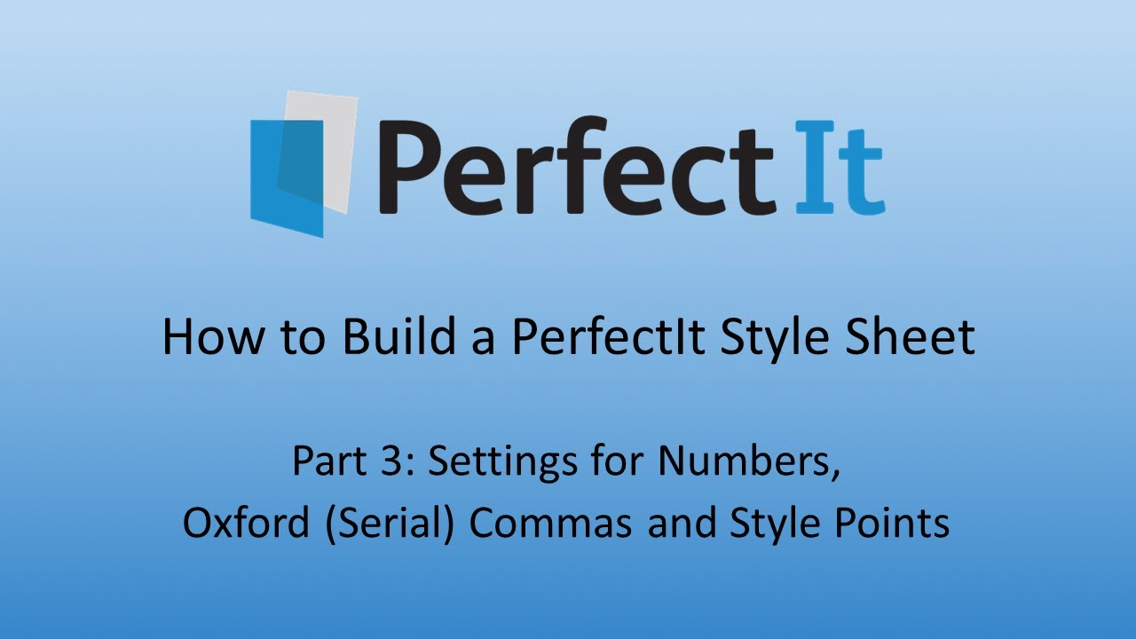 Building a perfectit style sheet 3 settings for numbers oxford building a perfectit style sheet 3 settings for numbers oxford commas and style points buycottarizona Gallery