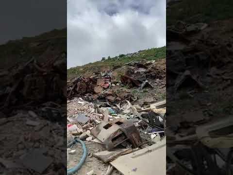 """<!--StartFragment-->Juan Gutiérrez dice que """"al parecer son varias las empresas que realizan vertidos de escombros y depósito de enseres"""" en la zo"""