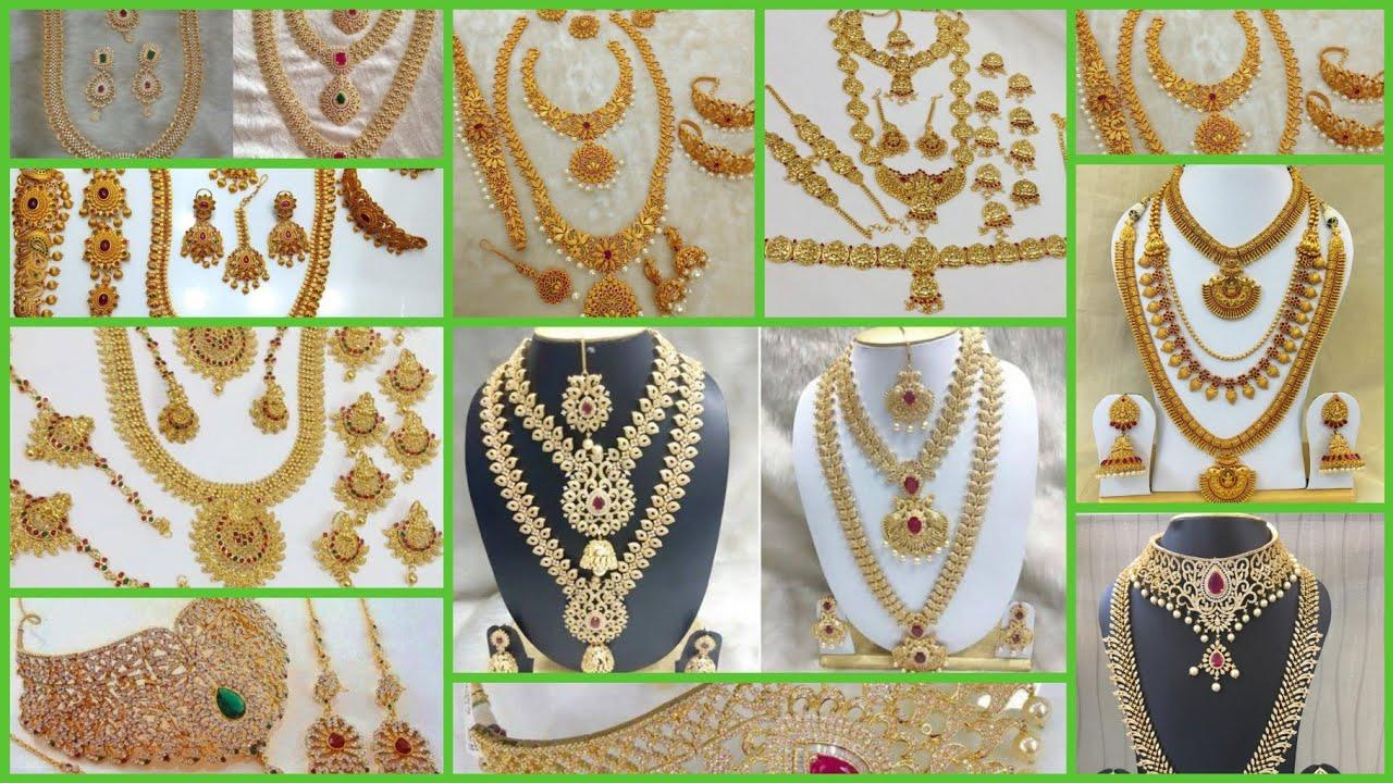 2475f9958 Sowcarpet Bridal Jewellery Set with Price & Rent Rate/Wedding jewellery set  Price in Tamil