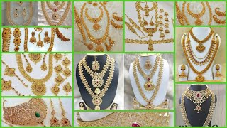 Sowkarpet Bridal Jewellery Set with Price & Rent Rate/Wedding jewellery set Price in Tamil