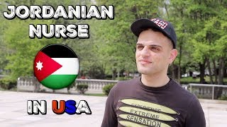 Jordanian RN JOURNEY towards NCLEX | Left Everything BEHIND to Pursue his AMERICAN DREAM