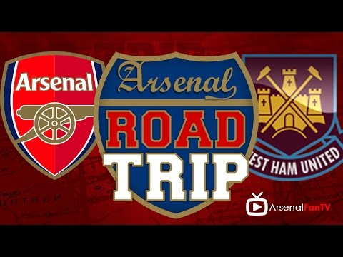 Road Trip To The Emirates | Arsenal West Ham