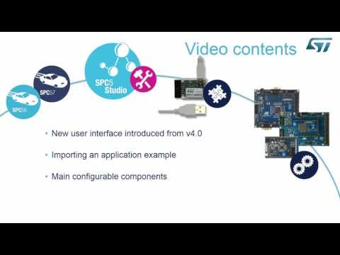 SPC5Studio integrated development environment for the SPC5 family of 32-bit automotive MCUs