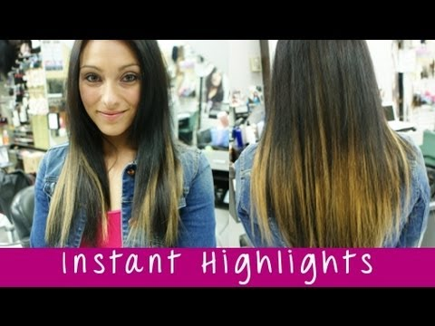 Instant highlights with instant beauty hair extensions full head instant highlights with instant beauty hair extensions full head of clip in highlights pmusecretfo Choice Image