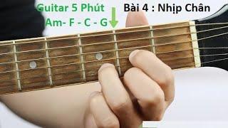 #4 Nhịp và Vòng Hợp Âm Thần Thánh Am F  C G   |Guitar 5 Phút|