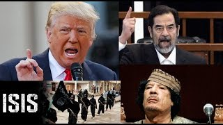 Donald Trump first time about Russia/Syria/Iraq/ISIS/Saddam/Gaddafi
