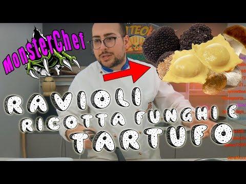 MATTEOHS | RAVIOLI RICOTTA,FUNGHI E TARTUFO! | MONSTERCHEF ITA
