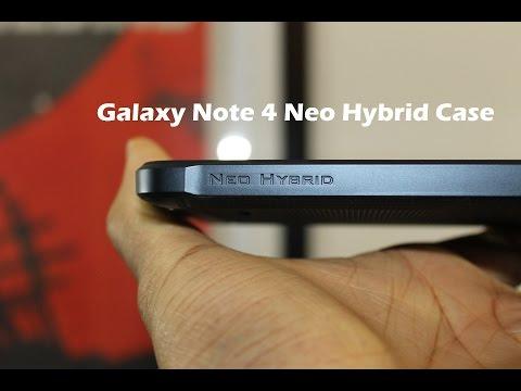 Spigen Galaxy Note 4 Neo Hybrid Case Review