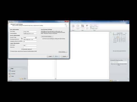 Setting up: IMAP/POP3 mailbox in Outlook - Heart Internet