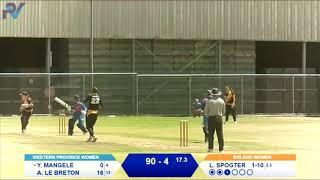 Boland Women vs Western Province Women (T20 Highlights)
