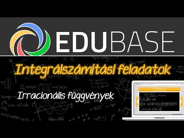 Határozatlan integrál - irracionális függvények