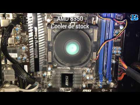 AMD FX 8350 | Cooler de Stock VS Corsair H80i - pruebas de dB