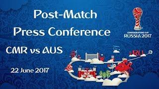 CMR vs. AUS : Post-Match Press Conference thumbnail