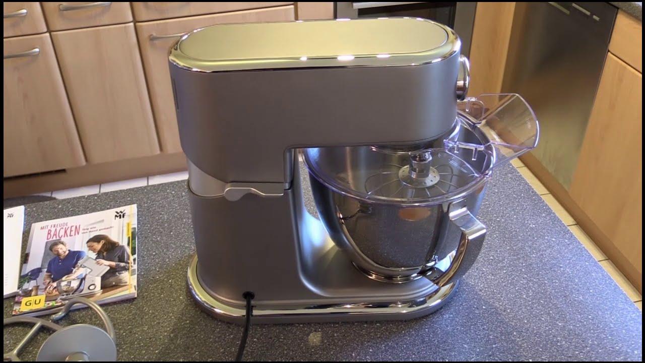 Wmf 0416320071 Profi Plus Küchenmaschine Steel Grau Youtube