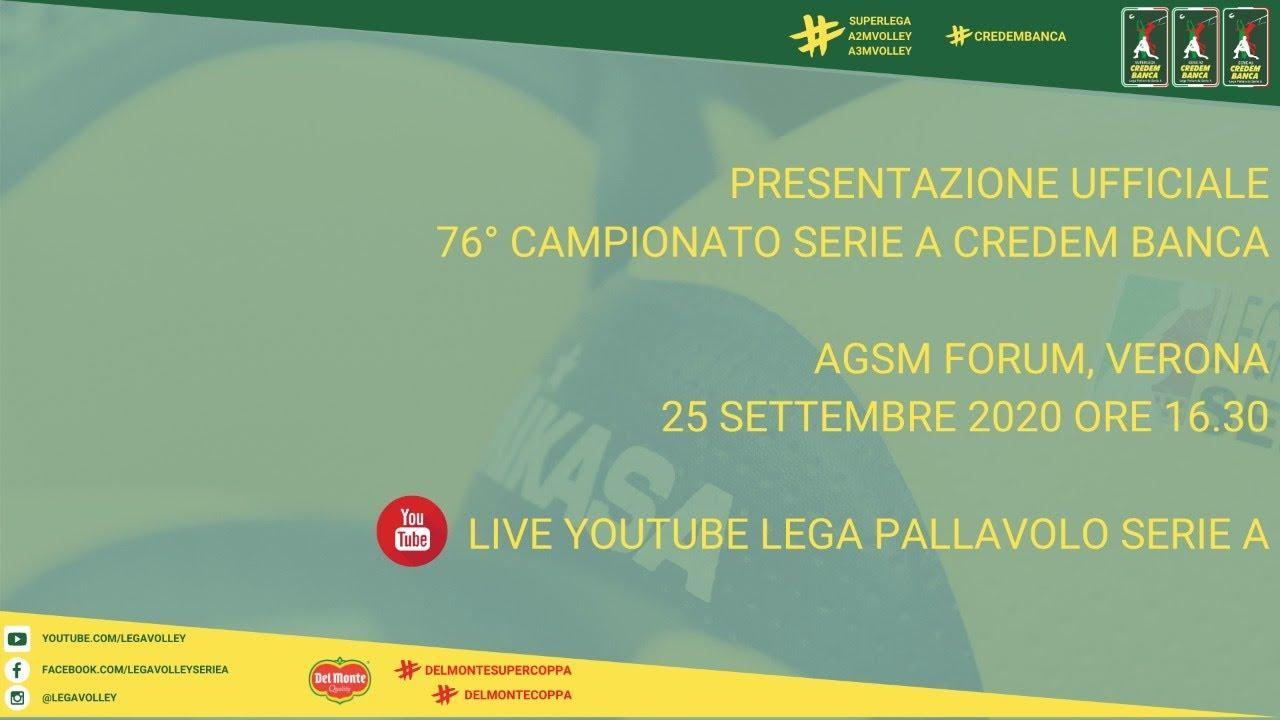 25-09-2020: Presentazione Serie A Credem Banca 2020/2021