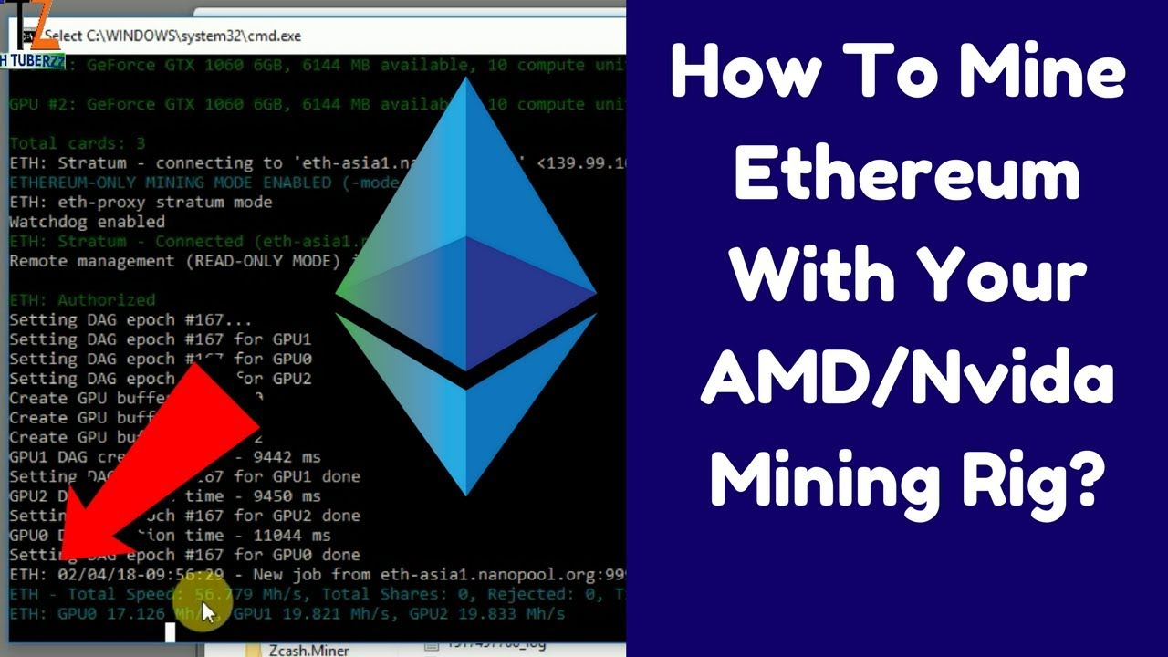 mining cryptocurrency with just 1 gpu