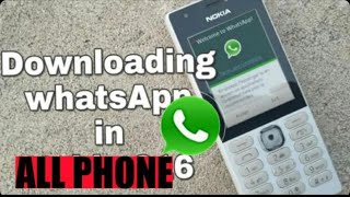 How to download what's app in keypad phone