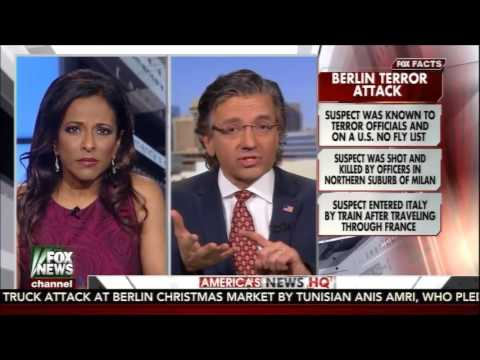 Dr. Jasser reacts to news that Berlin attacker recruited his nephew
