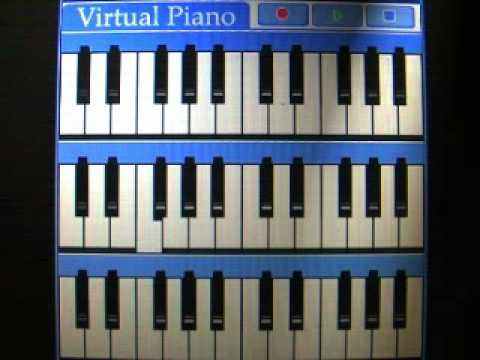 Virtual Piano for Palm OS - Play & Record on the Go!