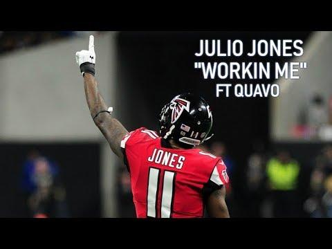 "Julio Jones mix ""Workin me"" FT Quavo"