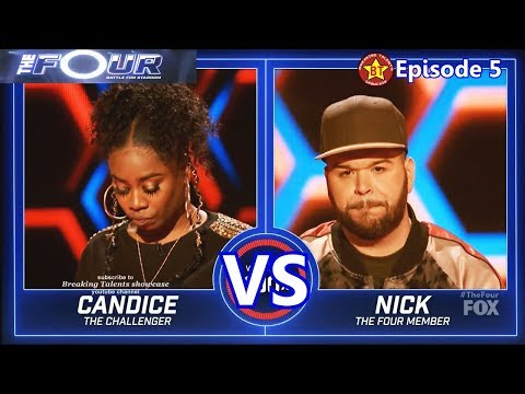 Nick Harrison vs Candice Boyd with Results &Comments The Four S01E05 Ep 5