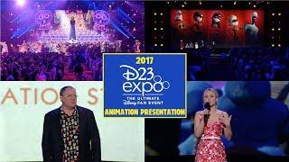 2017 D23 EXPO Disney & Pixar Animation Presentation (Coco, Incredibles 2 & More)
