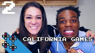 Just here in a bikini! (California Games w/ Bayley Part 2) — Superstar Savepoint