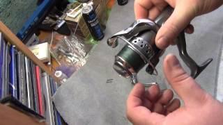 Ремонт рыболовных катушек своими руками  часть 2 ( маленькие хитрости)
