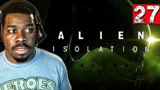 Alien Isolation Gameplay Walkthrough Part 27 Space Walk - Lets play Alien Isolation