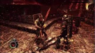 The Cursed Crusade Xbox 360 Gameplay