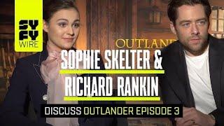 Outlander Cast Break Down Season 4, Episode 3 | SYFY WIRE