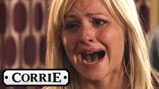 Sarah Kicks Gary Out of the House - Coronation Street
