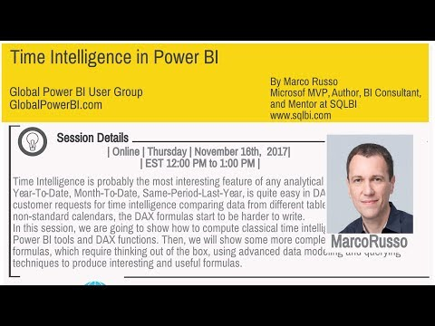 Time Intelligence in Power BI by Marco Russo