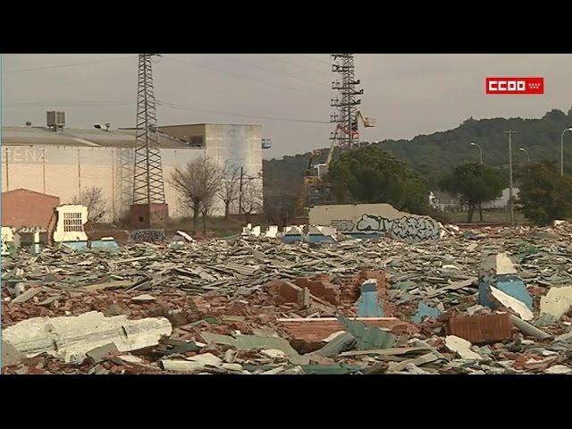 Peligroso foco de amianto en Getafe