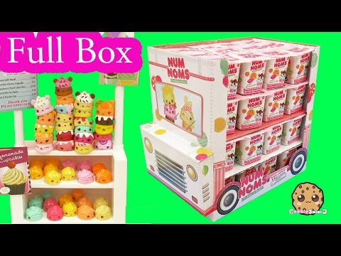 Full Ice Cream Truck Box Of 48 Num Noms Surprise Blind Bag Cups - Cookieswirlc Video