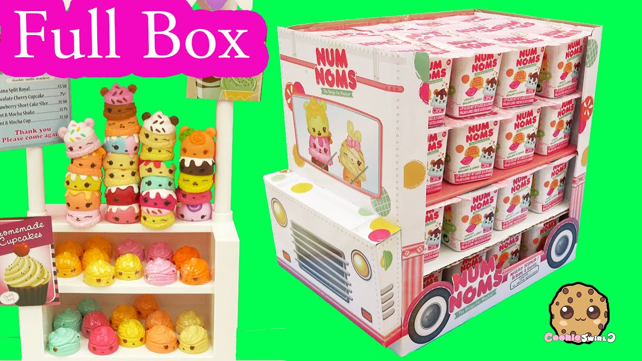 Full Ice Cream Truck Box Of 48 Num Noms Surprise Blind Bag