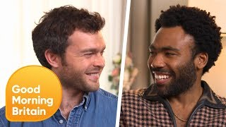 Donald Glover Was Told to Play Lando as 'Charming' in Solo: A Star Wars Story | Good Morning Britain