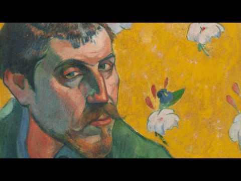 Paul Gauguin, Self-Portrait with Portrait of Émile Bernard (Les misérables)
